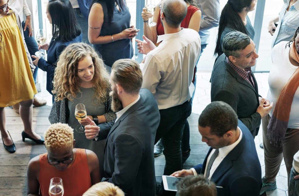 corporate events networking